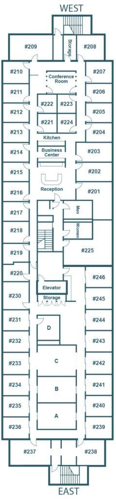 Southbridge Office Suites Floorplan